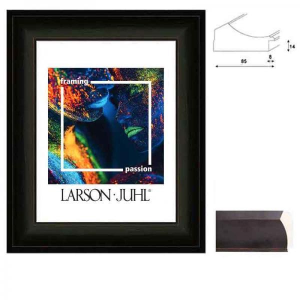 Barockrahmen MAREIS 85 10x15 cm | French Ebony | Normalglas