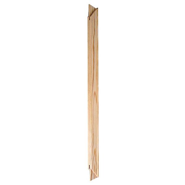 Keilrahmen-Schenkel 20 cm | Kiefer natur