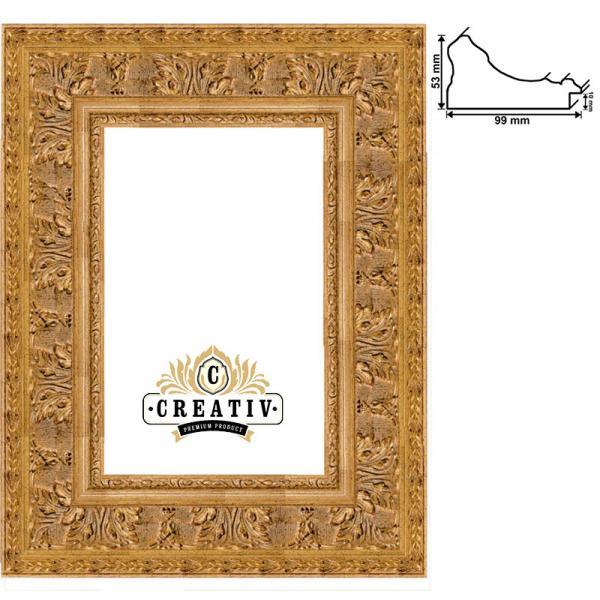 Barock-Bilderrahmen Grosseto nach Maß