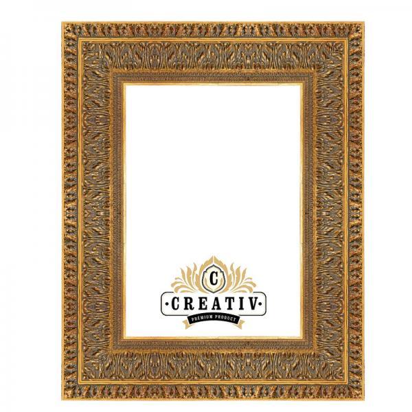 Barock-Bilderrahmen Matera 24x30 | gold | Normalglas