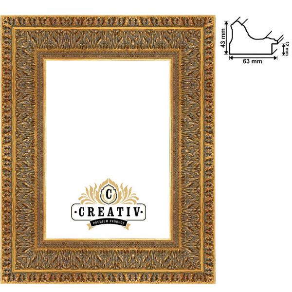 Barock-Bilderrahmen Matera nach Maß