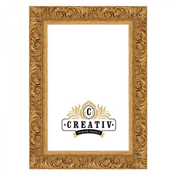 Barock-Bilderrahmen Andria 20x20 | gold | Normalglas