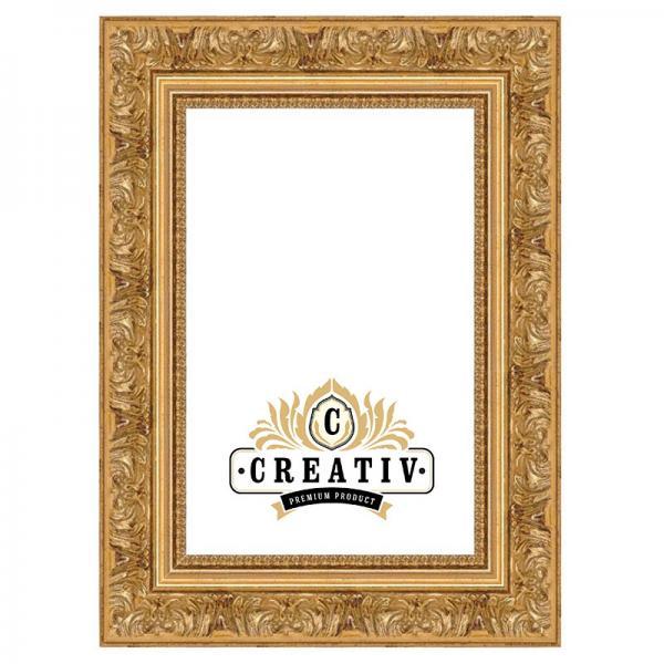 Barock-Bilderrahmen Terni nach Maß gold | Normalglas