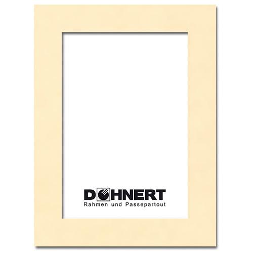 Passepartout mit eigenem Ausschnitt 13x18 cm | Muschel