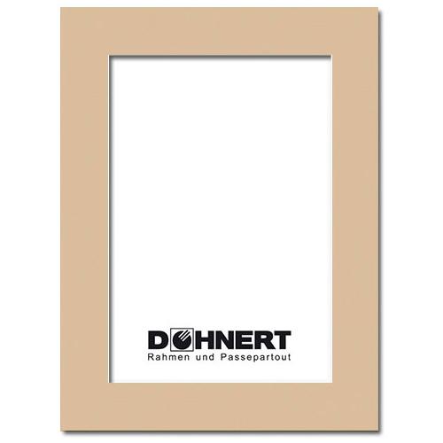 Passepartout mit eigenem Ausschnitt Außen: 13x18 | Zement