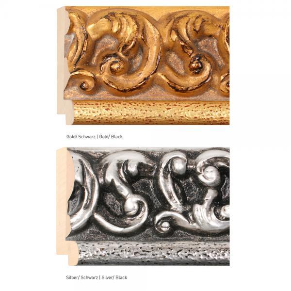 Antik-Bilderrahmen nach Maß Anemona 108